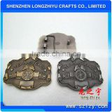 2013 New clamp belt buckle with custom logo fashion design for promotional gift