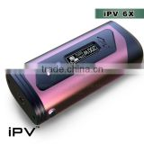 pioneer4you Colorful iPV6x box mod with dual batteries ipv400 ipv6 IPV5 200W box mod yihi sx350 chip sx mini