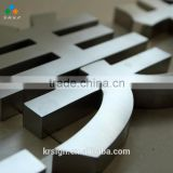 whole sale price laser grinding 3d stainless steel mental letter sign of alphabet letter with polished surface treatment