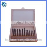 10pcs carbide rotary burrs set