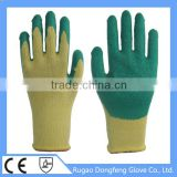 China Aramid Fiber Crinkle Latex Coated Safety Equipment Working Gloves With Cut Resistance