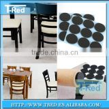 shenzhen furniture circle non slip pad self adhesive felt pads