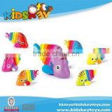 mini plastic promotional toys toys plastic swimming fish wind-up action toy christmas wind up toys