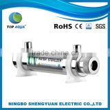 T209 New Desiger OEM 6W 0.5Gpm Stainless Steel Home Used Uv Ultraviolet Water Sterilizer