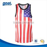 Wholesale adult custom cheap mesh cool sublimation usa basketball jersey