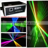 ColorFull ILDA RGB Laser DJ Light Red Green Blue Beam 40K DMX 512 Stage Lighting Effects LCD Display SD card Animation