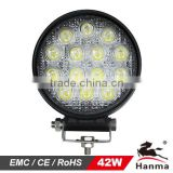 42W LED work light for truck lighting,Agricultural tractor,excvavtor,trailer,marine,offroad vehicles