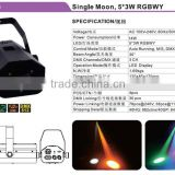 High Quality 5*3W RGBWY Sound Active LED Mini Laser Stage Lighting