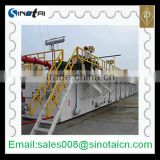 API Standard Skid-mounted mud cycle oil well Solids Control System