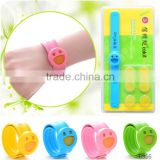 HOT selling snap silicone band mosquito repellent wristband mosquito Bracelet
