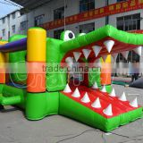 crocodile inflatable jumping air bouncer trampoline
