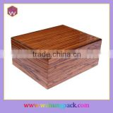 Custom Quality Wooden Cigar Box /Wholesale Cheap Cigarette Storage Box For Cigars(WH-2996)