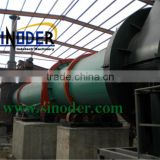 Provide Brown coal rotary dryer for drying Chicken manure,coal,wood chips,sawdust, pellets, powder -- Sinoder Brand