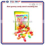 Bear gummy candy starch moulding line