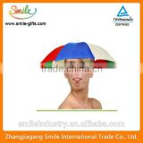 New Product Hat Umbrella Logo Printed Umbrella Hat                                                                         Quality Choice