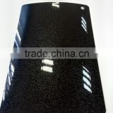 high gloss black metallic pvc film for kitchen cabinet decoration