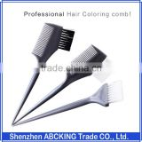 Wholesale Plastic Salon Hair Brush Bleach Tint Perm Application Dye Coloring Comb Styling Tools
