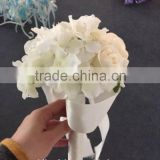 2015 LATEST ARRIVAL Artificial Flowers Fine Design beautiful single stem bridal veil bouquet
