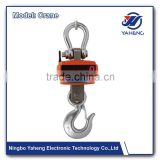 Industry light weight and aluminum crane scale 2000kg OCS WS Overhead Crane Using Wireless Digital Weighing Scale 5 ton