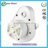 12V 24V Mini High Torque Low Speed Micro Motor DC gear Motor with Metal Spur Reduction Gearbox for Safe Box