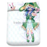 New Yoshino - Date a Live Japanese Anime Bed Sheet with Pillow Covers Blanket 1