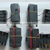 2014 new arrival DC12V 8-AA battery pack el wire inverter for 0~20m el wire, sound active+on+flash function together