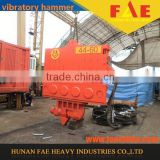 FAECHINA Highway construction akp hydraulic pile driver vibratory hammer sheet pile driver vibrating pile driver