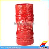 Wholesale souvenir cheap ceramic tiki mug cup for gift