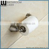 Contemporary China Supplier Zinc Alloy Brush Nicked Bathroom Sanitary Items Wall Mounted Toilet Paper Holder