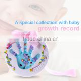 Memorable wall decoration for living room baby keepsake baby handprint footprint kit newborn baby souvenir