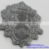 Metal Tequila bottle label,antique metal logo label,metal coin,zinc alloy metal nameplate