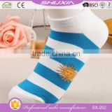 SX-202 low price bulk wholesale cotton knitted sexy women socks socks short womans lace boot socks factory manufacturers