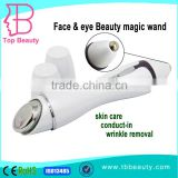 mini LED EMS Vibration beauty magic wand skin rejuvenation equipment home use