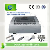 CG-905 New Design !!! 4 in 1 Diamond dermabrasion acne facial treatment for skin refreshing