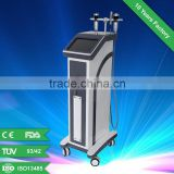 Matrix rf machine for wrinkle removal,fractional rf+miro needle/roller needle for beauty salon and laser clinic