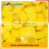 2016 corp canned yellow peach diced in light syrup 820g