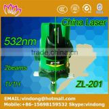 hot sell rotary laser level 532nm 2 line laser level 360 water proof dust proof horizontal and vertical laser level