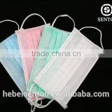 high quality medical consumables fashion cute funny doctor surgical printed PET non woven 3 ply disposable face mask