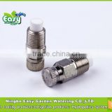 Fog Mist Nozzle 1/8'' with filter, High pressure mist cooling nozzle. Brass nozzle. Mist cooling products