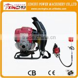 HOT SALE XINGHU 4 STROKE GX35/140 engine BACKPACK OR SHOULDER HANDLE CE CERTIFICATE GASOLINE BRUSH CUTTER
