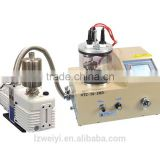 LAIZHOU WEIYI 3 Rotary Target Plasma Sputtering Coater w. Substrate Heater (500 C) Including 3 Targets - VTC-16-3HD
