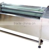 OULENO Potato cleaning and peeling machine large roots fruits and vegetables washing peeling machine potato carrot cleaning and