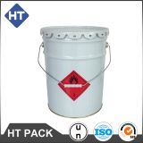 5 gallon white coating paint pail,20l paint bucket with lug lid,20 liter drums for solvent/engine oil/ink