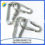 Wholesale price Metal Safety Spring Snap Hook with screw