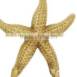 star shape gold hanger , wall decorative item