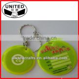 factory direct sale promotional reflective keychian