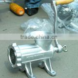 2015 high quality hand operating iron meat mincer