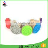Fashion oem design silicone cookie stamp