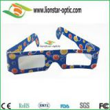 Disposal celebration 3d paper fireworks glasses with low price