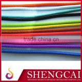 Cheap round elastic rubber cord 4mm with metal barb